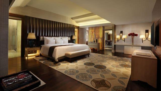 melihat presidential suite room hotel tentrem yogyakarta tempat barrack obama menginap