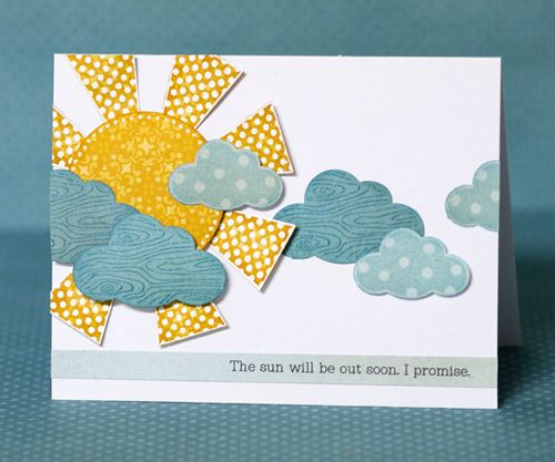 Hero Arts/Studio Calico Hooray set.  Link includes two other cards.: Cards Ideas, Sun Ray, Handmade Cards, Sunshine Pet Boys, Cards Layout, Papercard Ideas, Homemade Cards, Sunshine Cards, Sunshinepet Boys