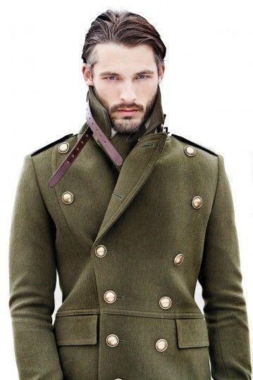 Military Inspired Overcoat