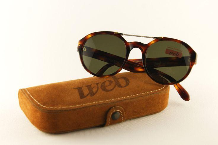Web #vintage #sunglasses - Occhiali da sole anni '90 - Nuovo - Unisex design di MarinaVintageItaly su Etsy