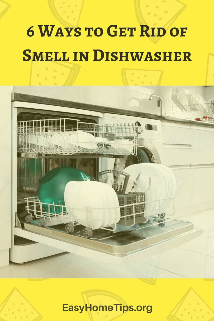 6 Ways to Get Rid of Smell in Dishwasher