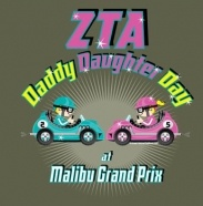 Zeta Tau Alpha ~ Daddy Daughter Day--this is such a cute idea!