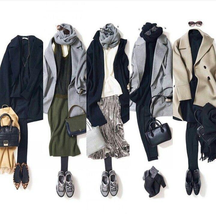 Tokyo Street Fashion Capsule Wardrobe