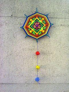 Taller Ojo de Dios: Cursos de Mandalas Tejidos: A la venta