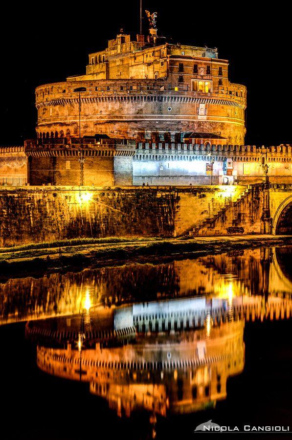 #Castel Sant'Angelo, Rome - Italy.