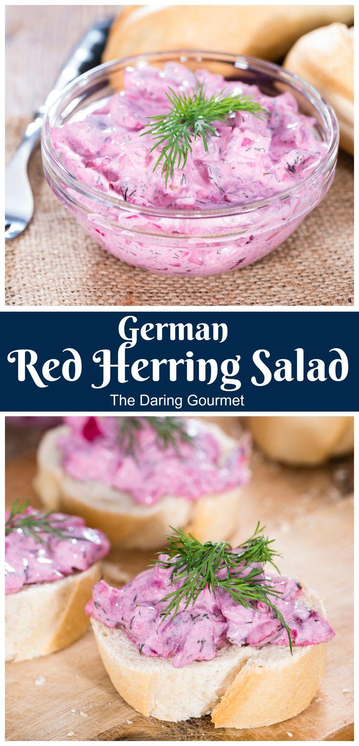 German red herring salad roter heringssalat recipe