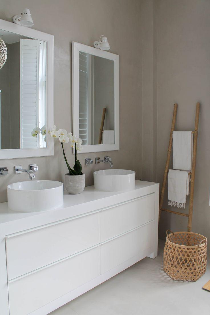 Badkamer met betonciré