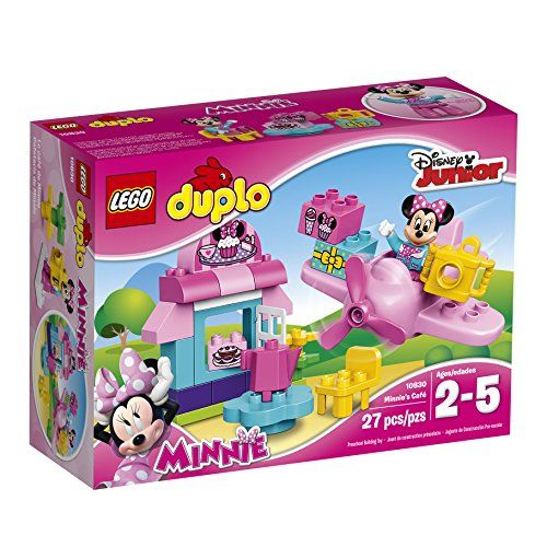 Little Disney fans will love playing in Minnie Mouse's pretty cafe! It's easy to build with the LEGO DUPLO bricks designed especially for budding builders. There's a table and a chair with a teapot fo...