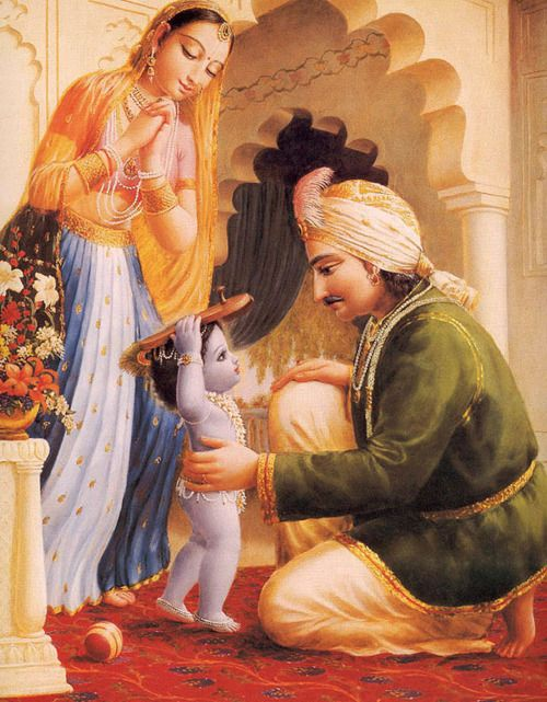 Bal Shri Krishna would oftentimes fake being weak when Yashoda Maa asked Him to…