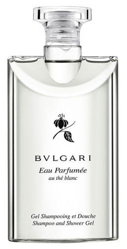 Bvlgari au the blanc (white tea) Shampoo and Shower Gel 2.5oz Set of 6 by BVLGARI. $34.95. Scent - Eau Parfumée au thé Blanc (Perfumed White Tea). Bvlgari au the blanc (white tea) shampoo and shower gel. 2.5oz (75ml) each, Set of 6. Made in Italy. An Alluring, Beautiful That Possesses A Blend Of Citrus With White Tea, White Pepper Floral, Musk And Amber.  Original and 100% authentic.