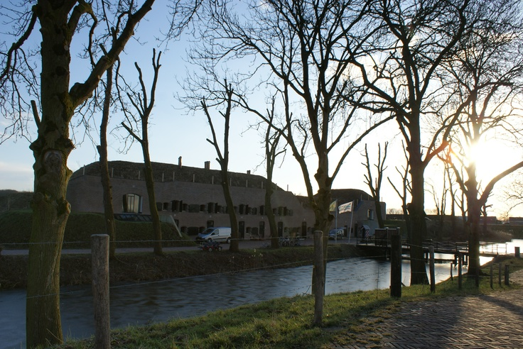 Fort Bakkerskil is op zijn minst indrukwekkend te noemen!