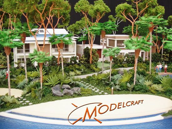 1:50 Landscaping.  Architectural Model by Modelcraft (NSW) Pty Ltd
