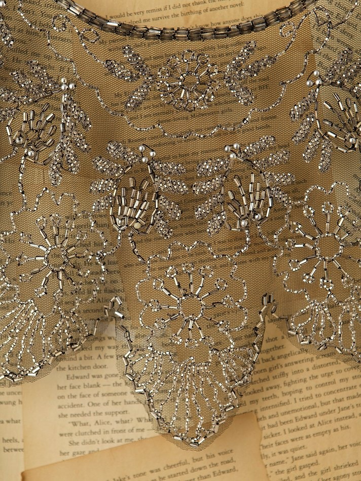 Vintage Beaded Tulle Collar at Free People Clothing Boutique