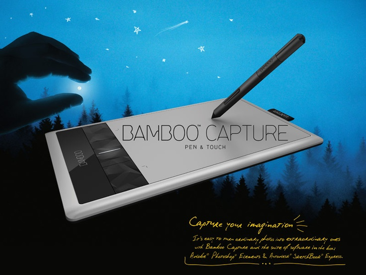 Amazing tablet AND multi-touch pad. A must have for Windows 8 upgraders without touchscreens!!!    Bamboo Capture Pen Tablets | Wacom