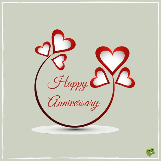 Happy Anniversary.                                                       …