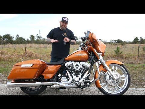 2014 Custom Harley Street Glide Walk Around - YouTube