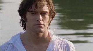 Elliot Cowan as Mr Darcy in Lost In Austen.