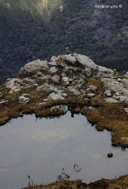 Lagunas. PNN Los Farallones de Cali.
