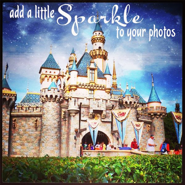 Great apps to Add A Little Sparkle To Your Photos! | Capturing Magic