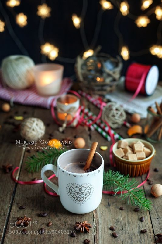 Christmas hot chocolate by miragegourmand