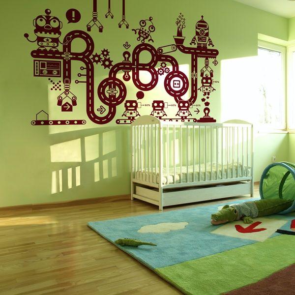 29 best vinilos infantiles para paredes images on pinterest for Decoracion de paredes infantiles