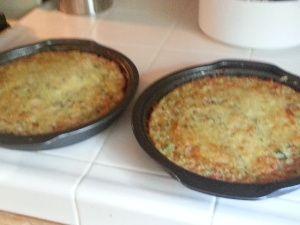 Zucchini pie, Marinara sauce and Zucchini on Pinterest