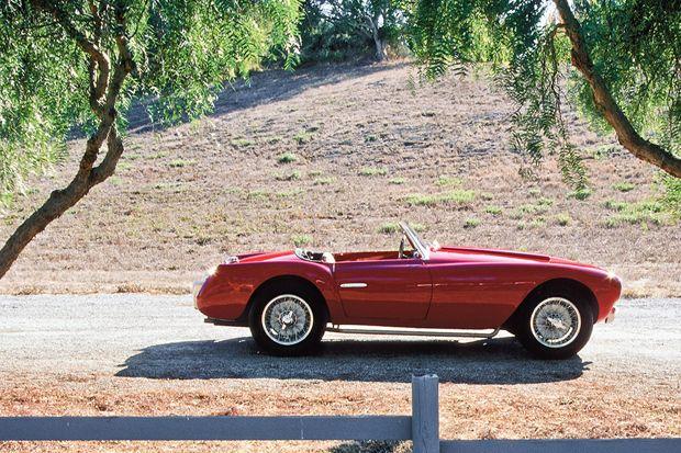 Steve McQueen's 1953 Siata Spider
