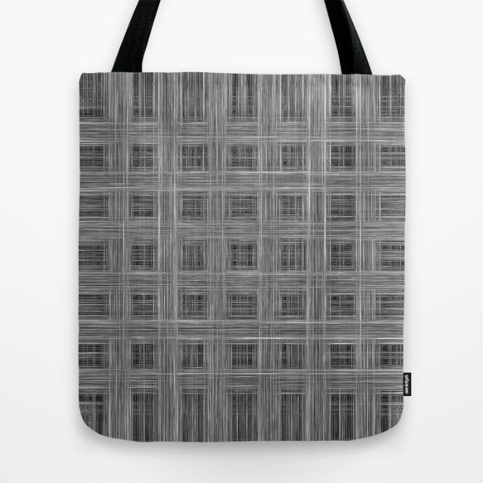 Ambient 10 (Grayscale) Tote Bag