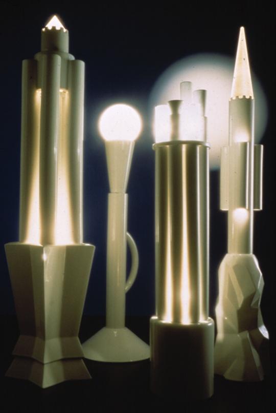 Castelli in fiore lamps : Matteo Thun