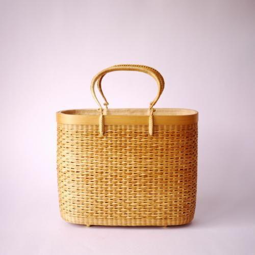 タイ王室御用達 プラニー工房作 籠バッグ | タイ工藝ムラカ