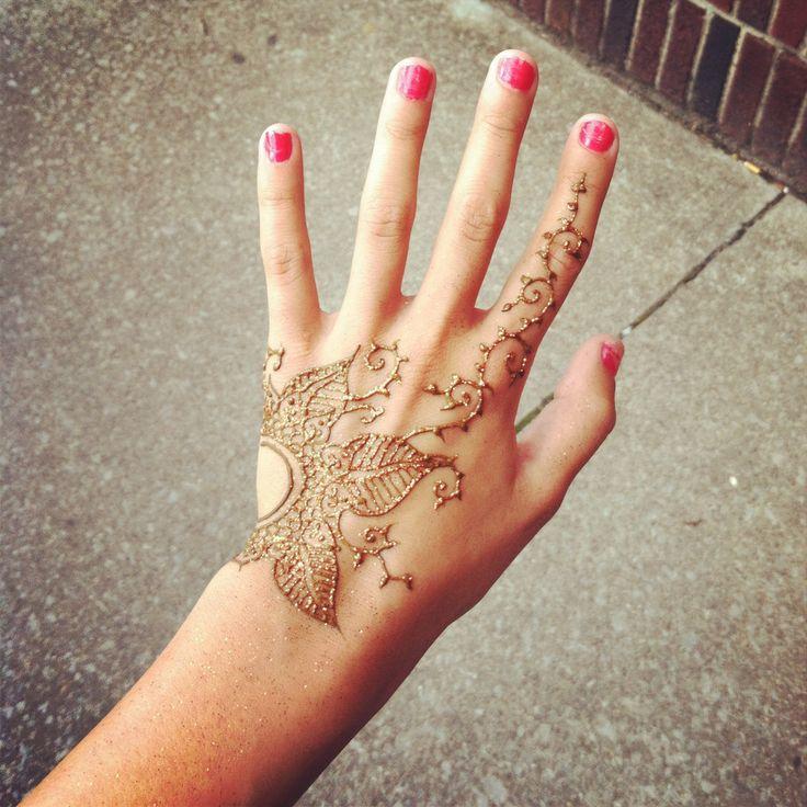 henna hand tattoo acrylic nails pinterest. Black Bedroom Furniture Sets. Home Design Ideas