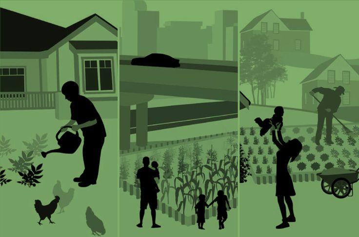 Non c'è bisogno di seppellire il pollice verde solo perché si vive in una brulicante metropoli. Nel 2014, si stima che il 54% della popolazione mondiale ri