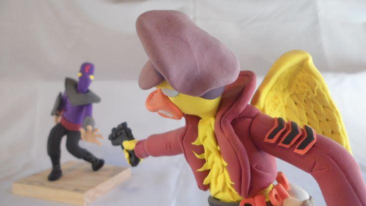 Ace duck vs Foot soldier