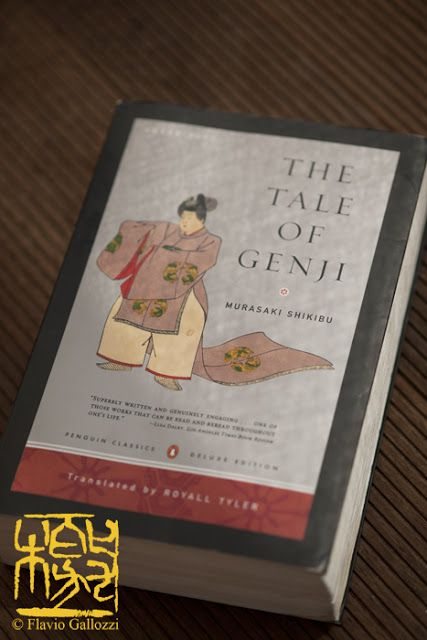 The Tale of Genji 源氏物語 - a classic work of Japanese literature written by the Japanese noblewoman, Lady Murasaki Shikibu in the early years of the 11th century, around the peak of the Heian period. It is sometimes called the world's first novel, the first modern novel, the first psychological novel or the first novel still to be considered a classic...I LOVE this book!!!!