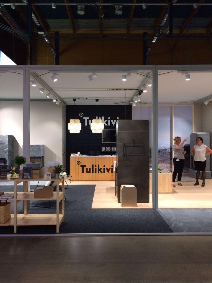 Tulikivi Stand 6f2 at Habitare 2017