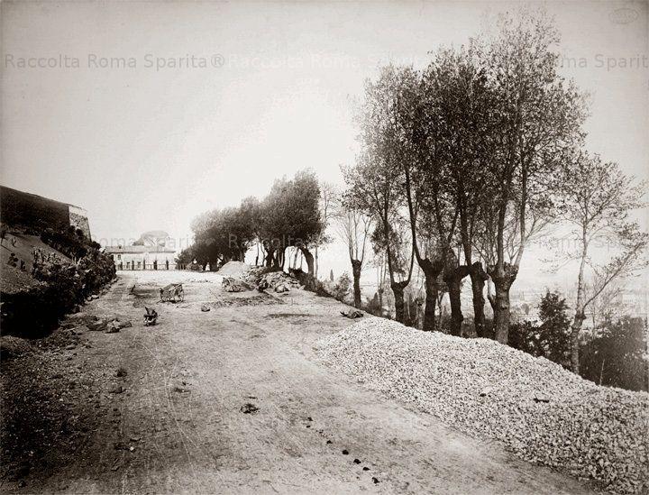 Salita al Gianicolo Anno: 1867