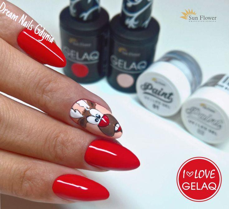 Christmas nail nail art