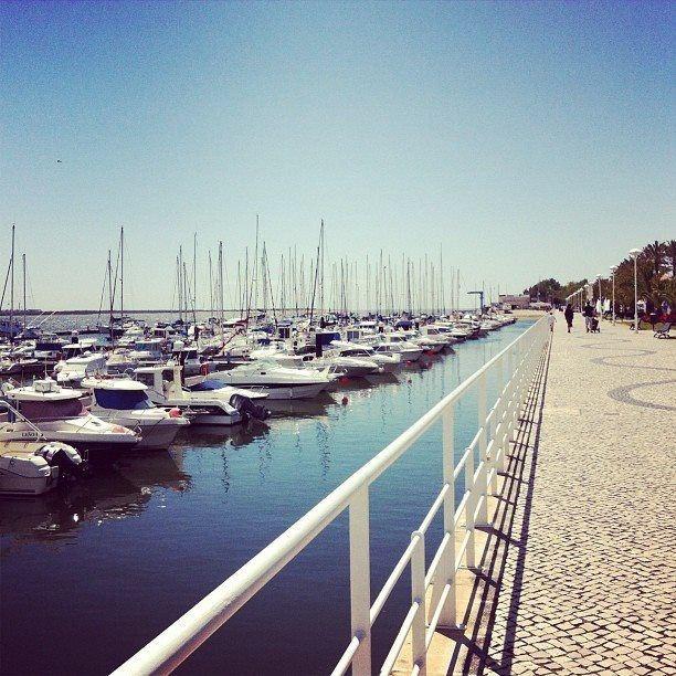 Vila Real de Santo António marina #vilarealdesantoantonio #portugal