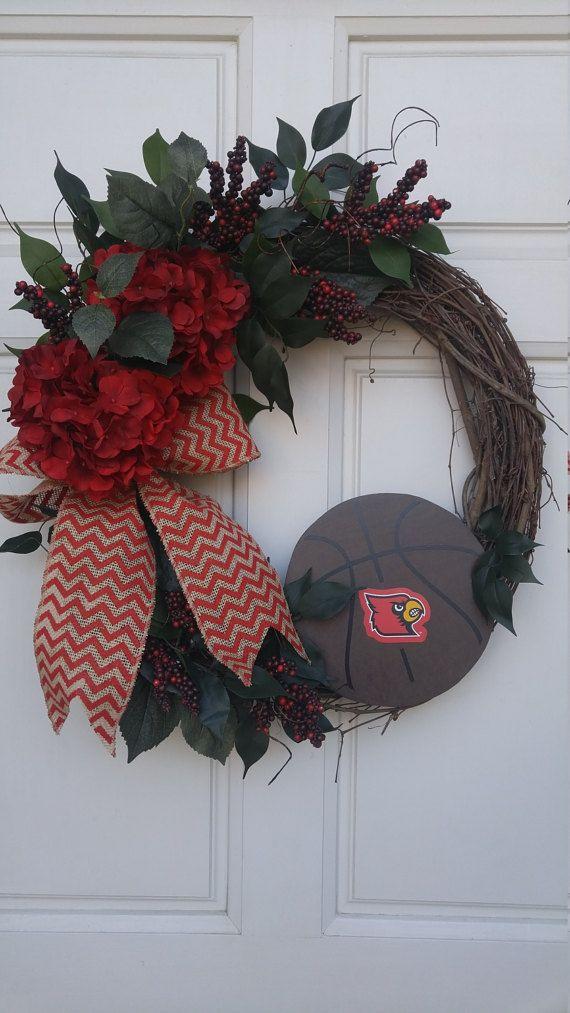 Louisville Basketball Wreath University of Louisville Wreath