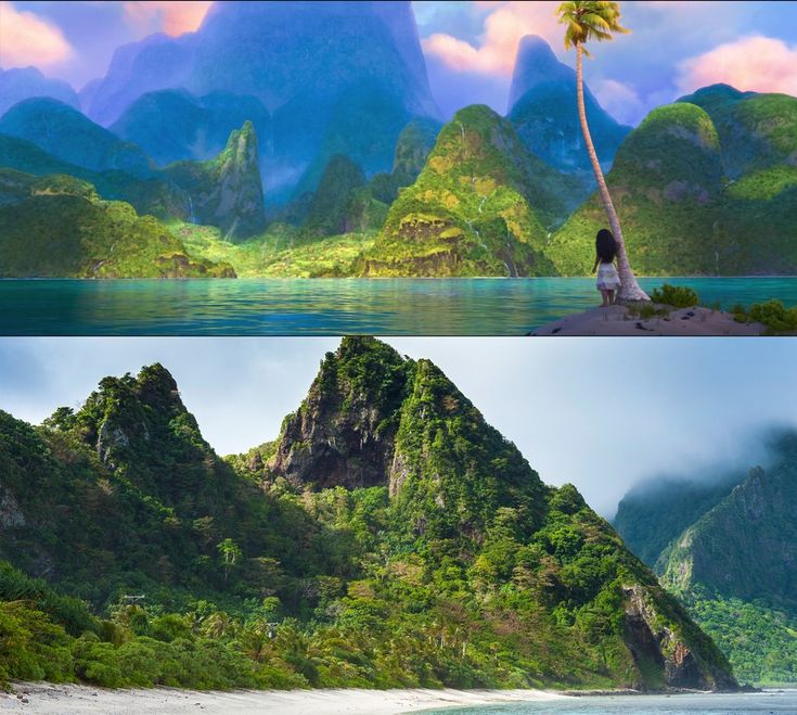 Disney's 56th animated feature film tells the story of Moana, a teenage girl who goes on an adventure to save her Polynesian island and people. The film takes place about 2,000 years ago on the fictional island of Motunui, but the filmmakers went to great lengths to make sure the narrative details and visual aspects of the movie were as true to the South Pacific as possible. Directors John Musker and Ron Clements traveled to several islands to conduct research, primarily Fiji, Tonga, and…
