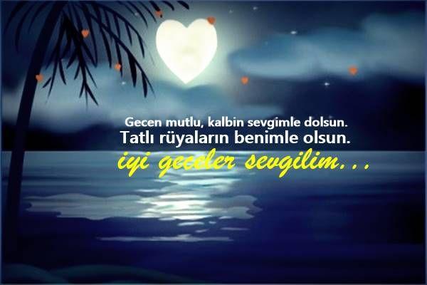 Sevgiliye İyi Geceler Mesajları, Romantik İyi Geceler Mesajları