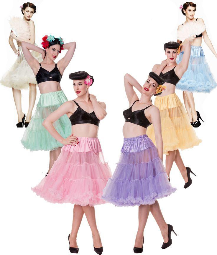 Long Petticoats (pastels)