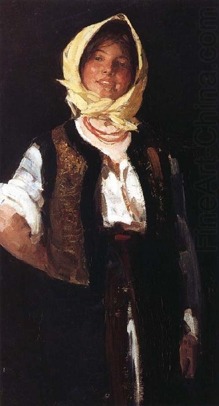 Cheerful young Peasant, Nicolae Grigorescu