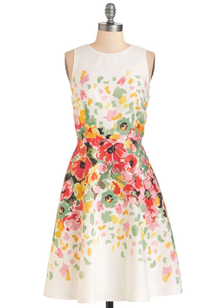 Watercolor Waltz Dress