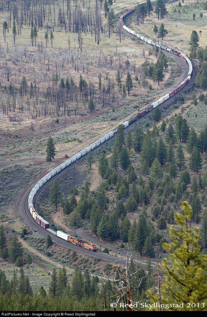 RailPictures.Net Photo: BNSF 5165 Burlington Northern Santa Fe GE C44-9W (Dash 9-44CW) at Kegg, California by Reed Skyllingstad