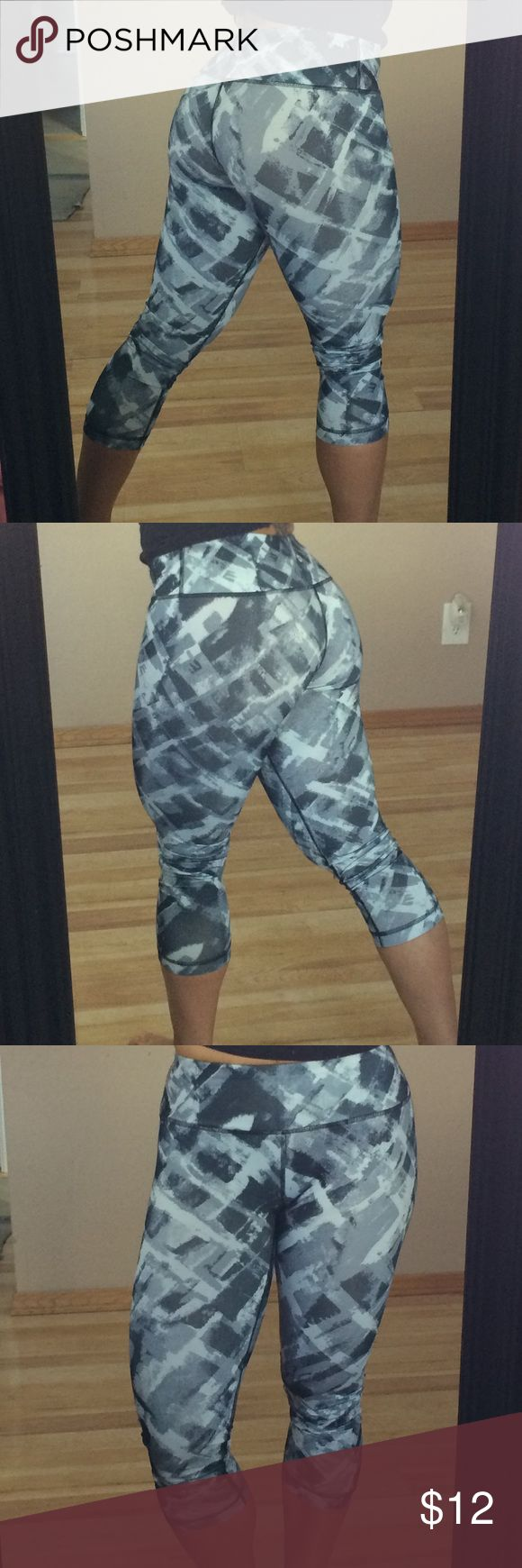 90 degrees multicolor XS Only worn once, still like new, durable great compression! Not Nike brand. Nike Pants Leggings