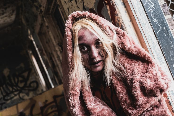 """Today's shoot was a creative, scary movie theme organized by an insanely talented makeup crew (Liquid Imprints of Toronto). This was a lot of fun, terrific models, great crew. So here are some """"creeped out zombies meets The Shining"""".   Copyright: Stacey Newman Photography"""