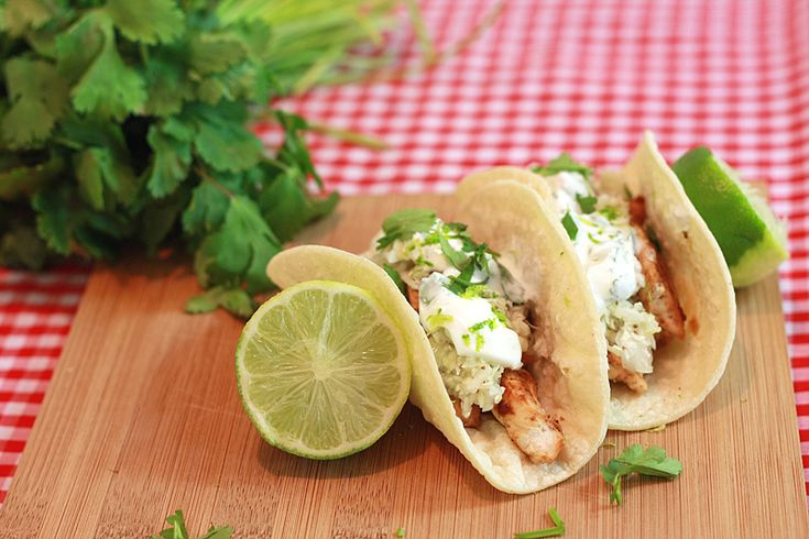 easy chicken tacos cilantro lime chicken best healthy recipes meat ...