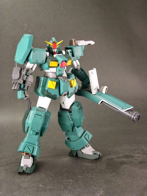 RC Berg: 1/144 Gundam Leopard Garage Kit (Price: 5000 yen) *To be sold at the upcoming C3 x Hobby 2014 (Japan) on Aug 23rd - 24th, 20...