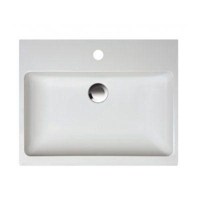 Sanplast Free Mineral umywalka prostokątna 50x40 cm Unbo-M/Free 640-280-1100-01-000